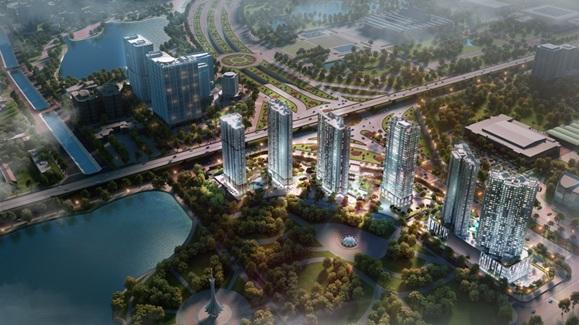 Các căn hộ SOHO được bố trí ở tòa tháp C2 của D'.Capitale – dự án sở hữu vị trí với 3 mặt tiền hướng ra 3 tuyến đường sầm uất, nhộn nhịp: đường Trần Duy Hưng, đường Khuất Duy Tiến và đường Hoàng Minh Giám.