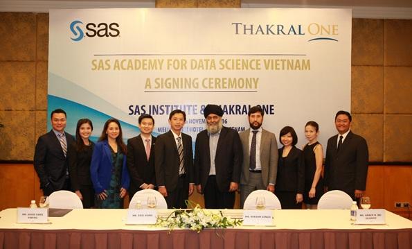 SAS bổ nhiệm Thakral One thành lập Học viện Khoa học Dữ liệu SAS tại Việt Nam