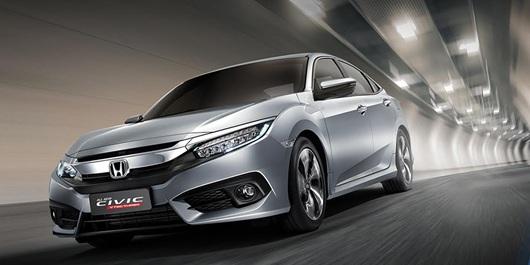 Honda Civic thế hệ thứ 10 được ASEAN NCAP chứng nhận an toàn 5 sao