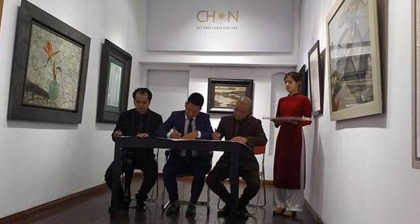 Ra mắt nhà đấu giá nghệ thuật quốctế đầutiên tại Việt Nam