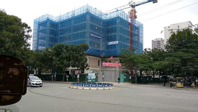 Soulth Building với tiến độ đã lên đến tầng 8.