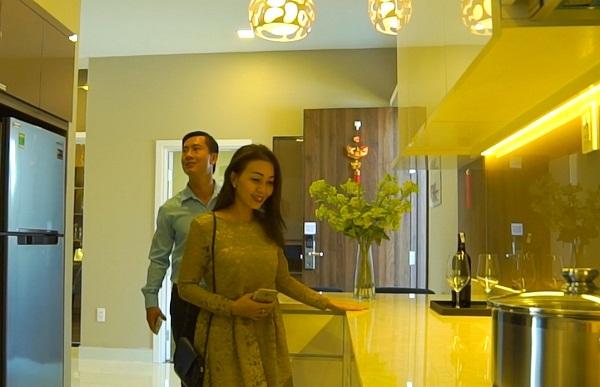 Khách hàng tham quan căn hộ mẫu Centana Thủ Thiêm.