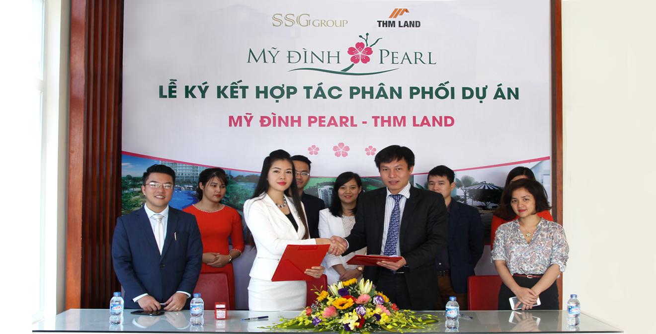 Tập đoàn SSG hợp tác THM Land phân phối dự án Mỹ Đình Pearl