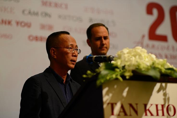 Ông Lê Quang Huy, TGĐ và ông Robert Zamacona, GĐĐH của Tấn Khoa (Ảnh: BTC).