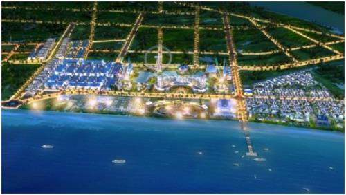 Tổng thể dự án rộng 200 ha FLC Sầm Sơn.