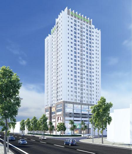 Eco Green Tower sở hữu vị trí trung tâm quận Hoàng Mai.