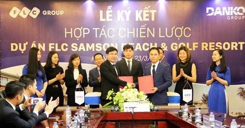 FLC Group vừa bắt tay cùng Danko Group trong việc phát triển tổng thể dự án FLC Sầm Sơn.