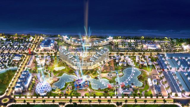 Tổ hợp du lịch – giải trí bốn mùa FLC Lux City.
