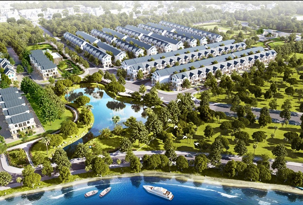 Park Riverside là dự án biệt thự, nhà phố Compound với tiêu chuẩn an ninh kiểu Mĩ.