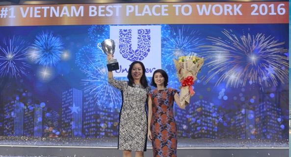 """Năm thứ 4 liên tiếp Unilever được bình chọn là """"Nơi làm việc tốt nhất Việt Nam"""""""