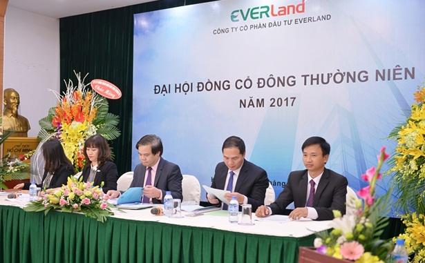 Đại hội đồng cổ đông thường niên 2017 CTCP Đầu tư Everland thành công tốt đẹp