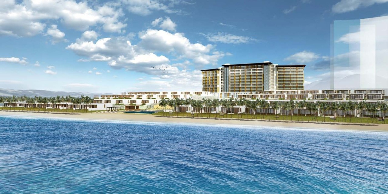 Vanesea Field Luxury Resort 100% hướng biển.