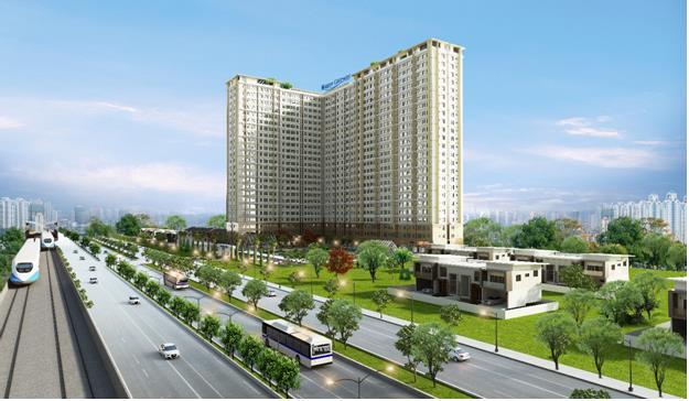 Dự án Saigon Gateway nằm cạnh ga số 11 tuyến Metro Bến Thành – Suối Tiên.