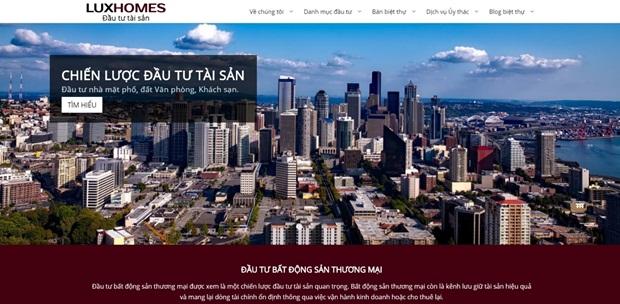 Luxhomes – Kênh đầu tư bất động sản thương mại