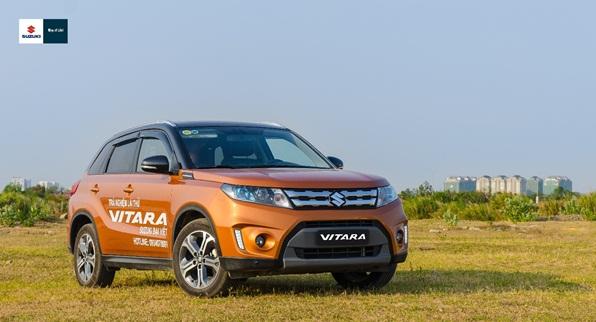 Suzuki Vitara 2016 - đối thủ nặng ký trong phân khúc SUV đô thị