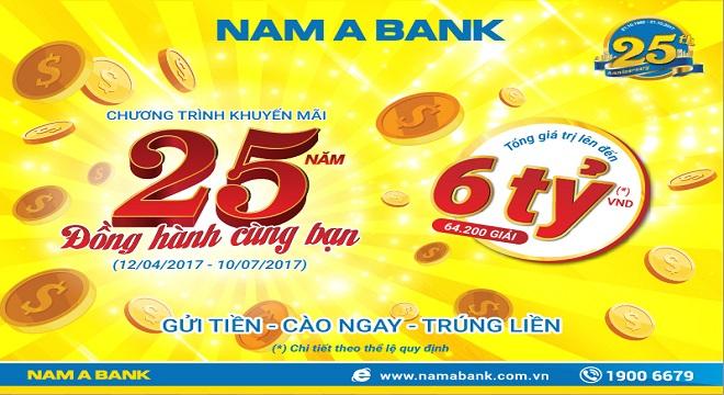 Nam A Bank gia tăng lợi ích cho khách hàng với nhiều ưu đãi đặc biệt
