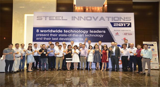 Hội thảo giới thiệu các công nghệ tiên tiến cho ngành sản xuất thép 2017