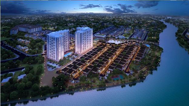 Dự án condo cao cấp tại khu Đông Tp.HCM với 3 mặt view sông