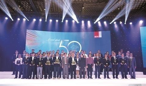 Danh sách 50 công ty kinh doanh hiệu quả nhất Việt Nam