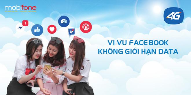 Cơ hội lướt Facebook bằng 4G MobiFone siêu đỉnh chỉ với 40.000đ/tháng