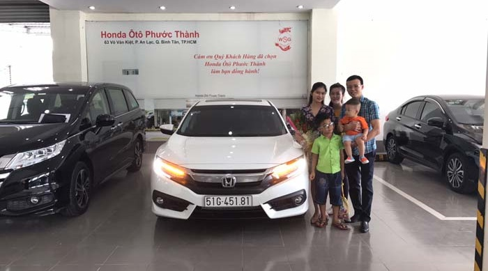 """Honda Việt Nam công bố kết quả chương trình Rút thăm trúng thưởng """"Mua xe Honda, cơ hội trúng xe Accord"""""""