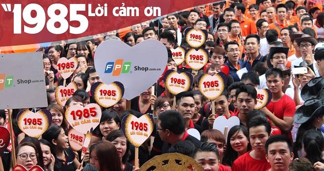 Vừa có nhà đầu tư, FPT Shop tri ân khách hàng sau 1985 ngày hoạt động