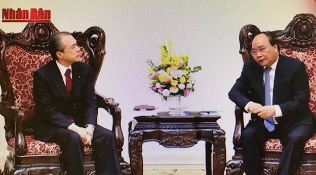 Chủ tịch HĐQT PV GAS tham gia buổi gặp gỡ của Thủ tướng Chính phủ với Tổng Giám đốc Tokyo Gas