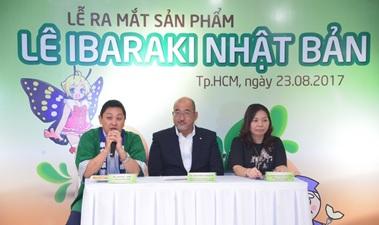 Giống lê được yêu thích của Nhật Kousui chính thức được xuất khẩu sang thị trường Việt Nam