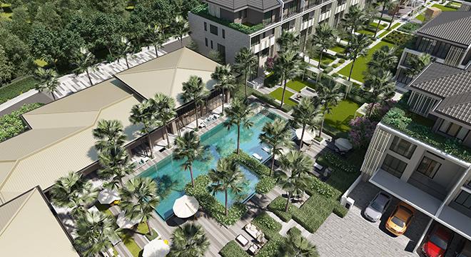 ParkCity Hanoi ra mắt khu biệt thự, nhà vườn liền kề The Mansions