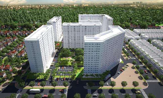 Ra mắt Block B1 đẹp nhất dự án Green Town Bình Tân