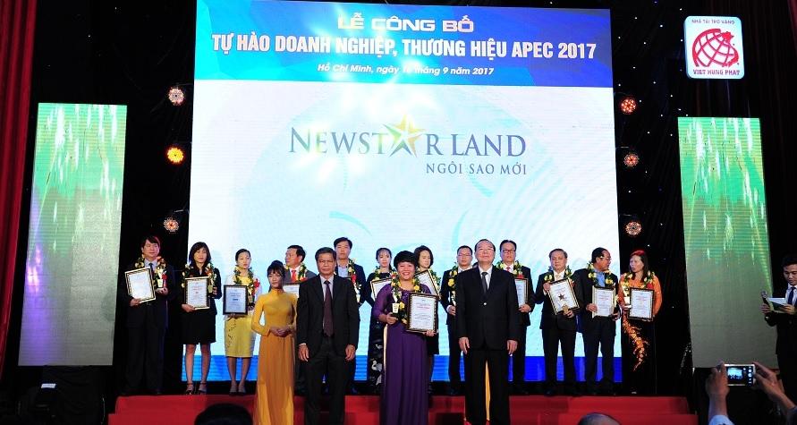 Newstarland xuất sắc lọt vào Top 10 thương hiệu tiêu biểu APEC 2017