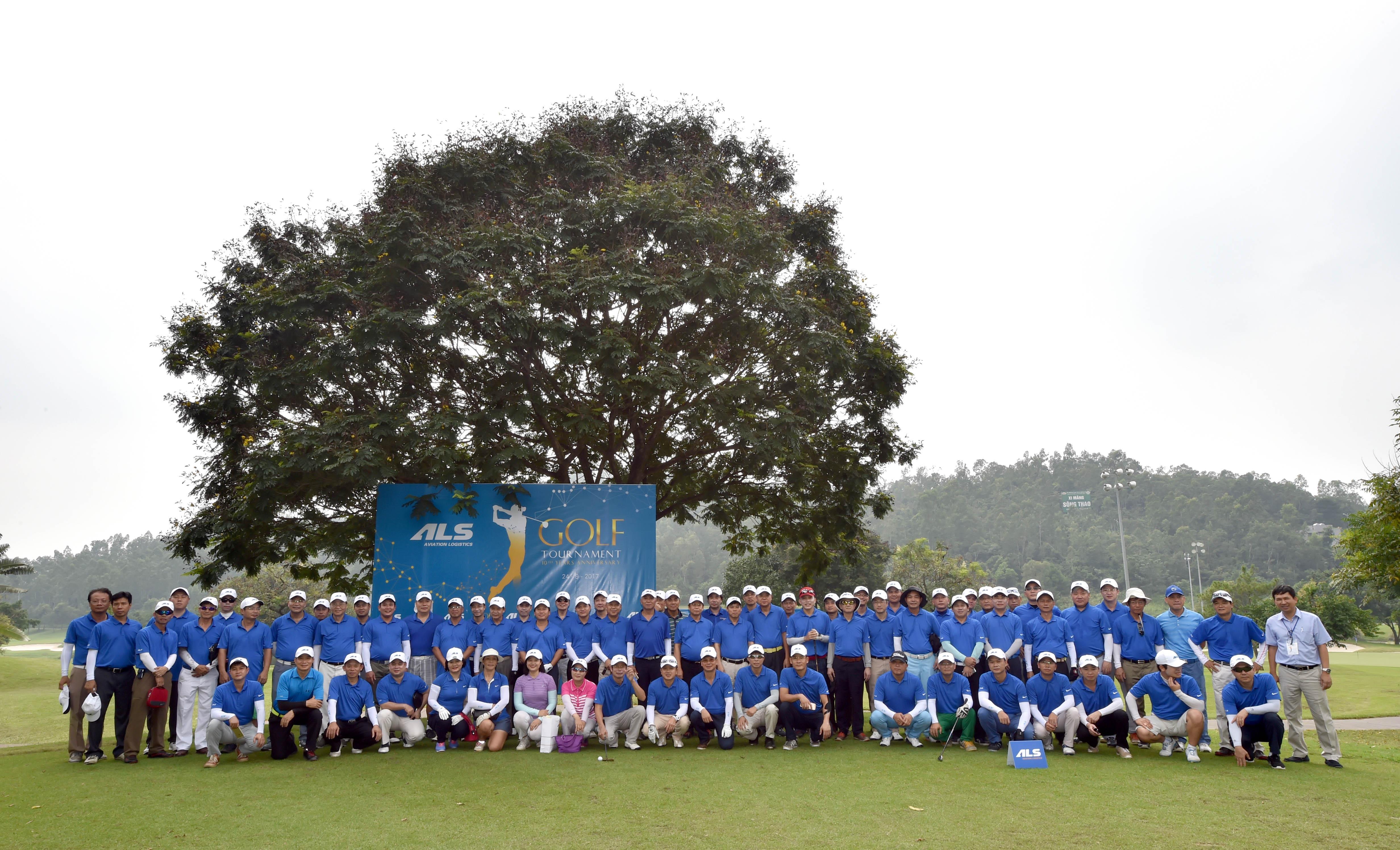 """ALS tổ chức thành công giải Golf """"ALS Golf 2017"""""""