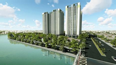 Hơn 400 căn hộ giá từ 1,6 tỷ gia nhập thị trường nhà ở tại Định Công