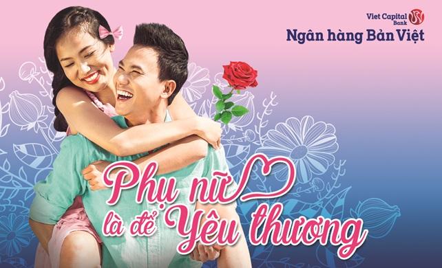Tặng 0,1% lãi suất gửi tiết kiệm và hàng nghìn quà tặng hấp dẫn cho khách hàng nữ của ngân hàng Bản Việt