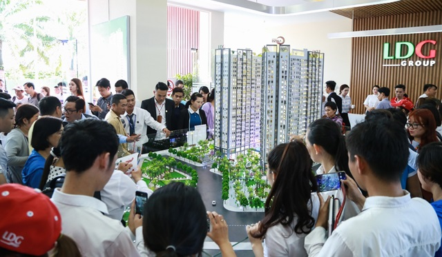 Cuối năm sức nóng giao dịch căn hộ hướng về khu Nam Sài Gòn