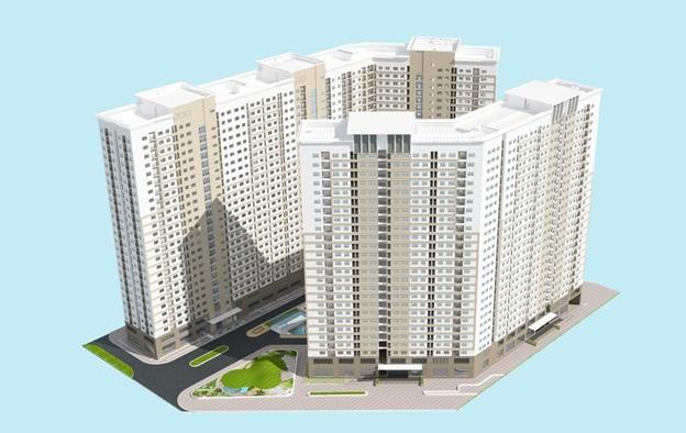 Ra mắt 3 tòa căn hộ F-G-H trung tâm dự án Xuân Mai Complex