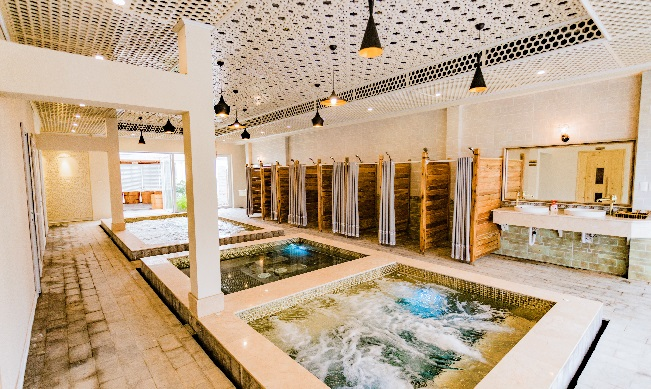 Nơi nghỉ dưỡng đặc biệt với nước khoáng nóng tăng cường sức khoẻ