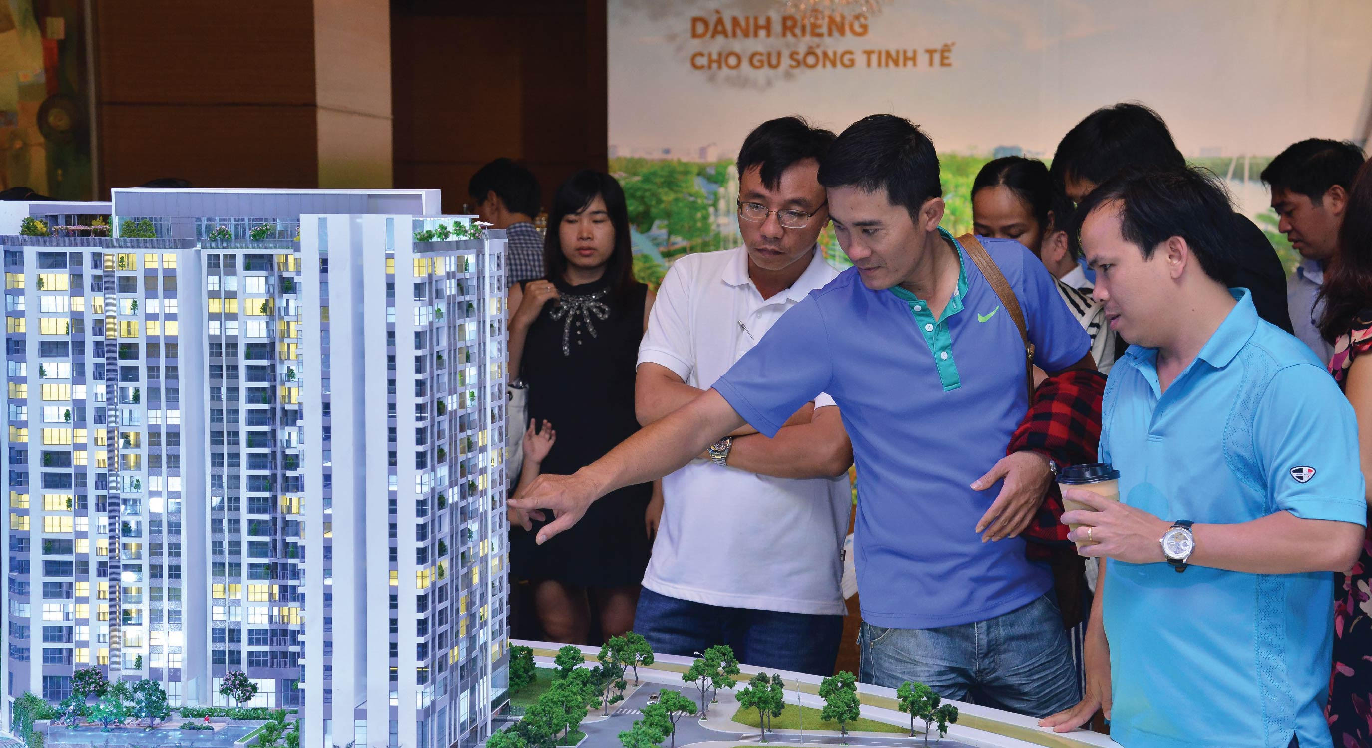 Căn hộ Office-tel Thủ Thiêm Dragon 1,2 tỷ hút khách ngay khi ra mắt