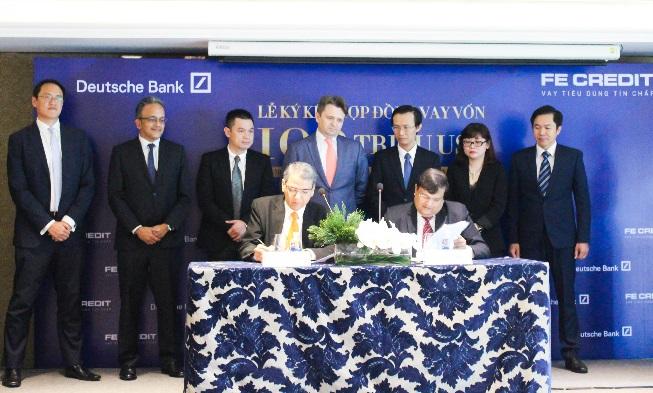 Deutsche Bank cung cấp khoản vay có bảo đảm trị giá 100 triệu USD cho FE Credit