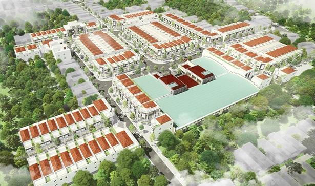 Dự án khu phố chợ Điện Nam Bắc - Không gian kinh doanh hấp dẫn