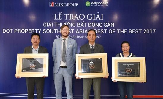 """Mövenpick Resort Waverly Phú Quốc của MIKGroup đạt danh hiệu """"Dự án ven biển tốt nhất"""" Đông Nam Á 2017"""