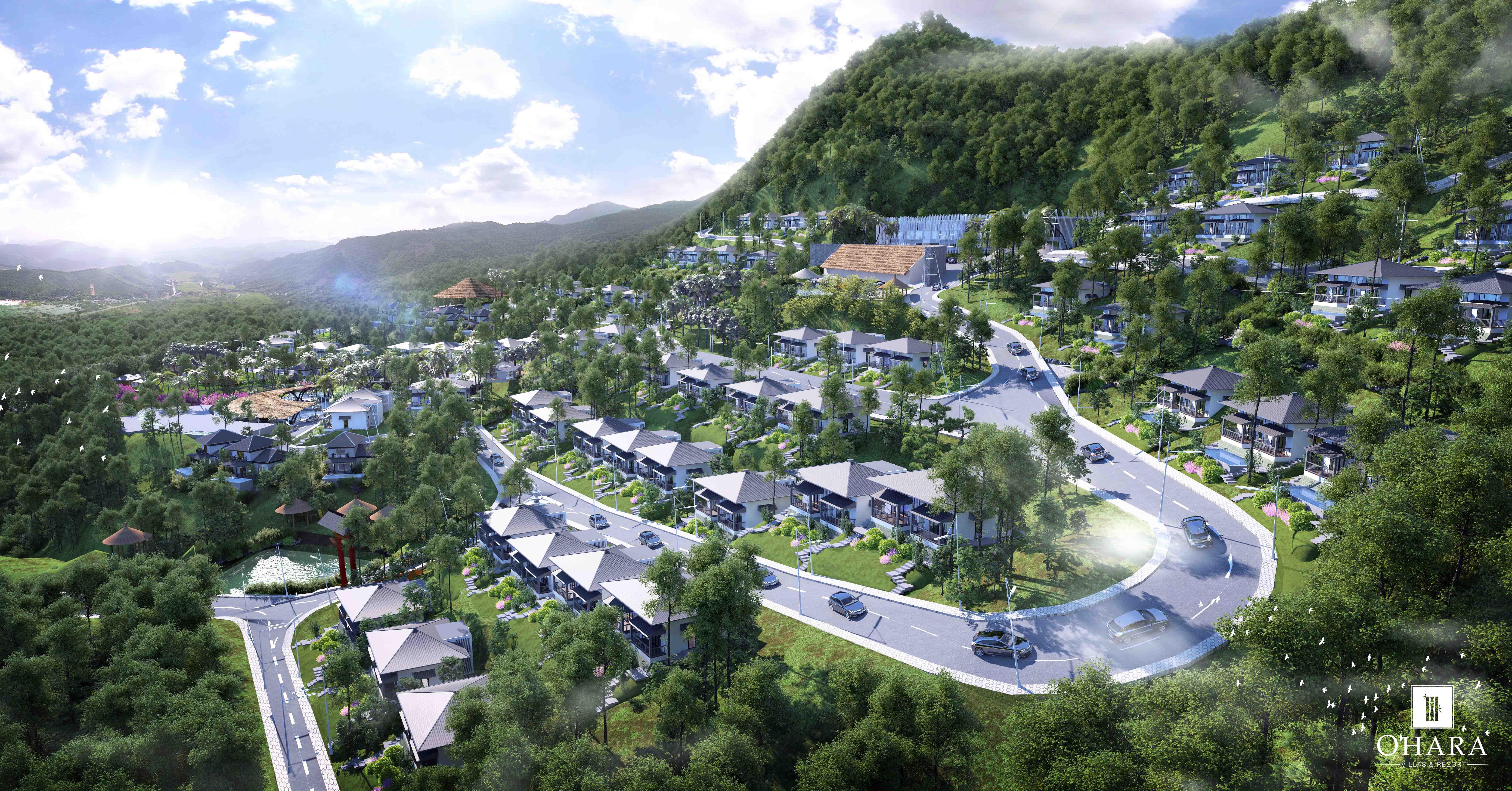 Sống nơi đất lành – Biệt thự nghỉ dưỡng hướng núi
