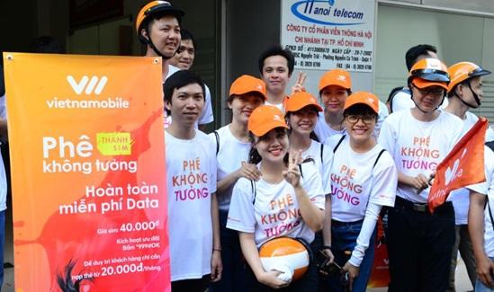 """Tung """"Thánh Sim"""", Vietnamobile kỳ vọng tạo xu hướng sử dụng data không rào cản"""