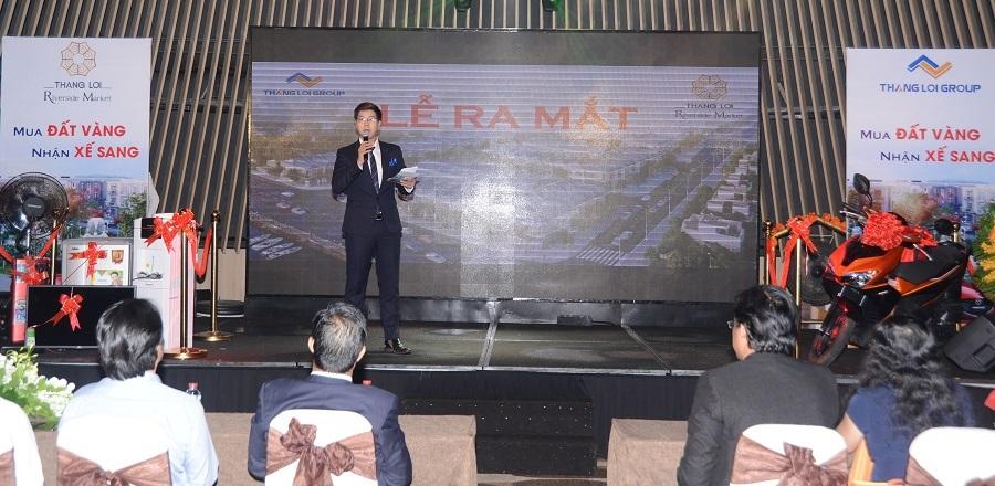 Thắng Lợi Group ra mắt dự án đất nền phố chợ vừa túi tiền