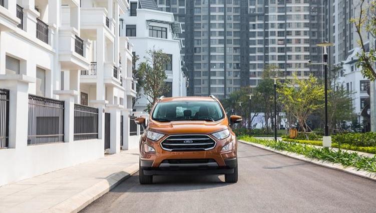 Ford EcoSport 2018 tự tin chinh phục mọi cung đường
