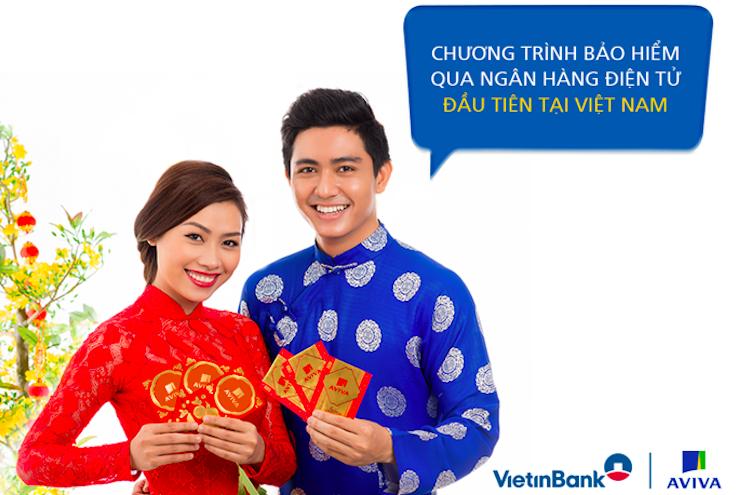 Aviva và Vietinbank ra mắt chương trình mua bảo hiểm trực tiếp trên Vietinbank Ipay Mobile