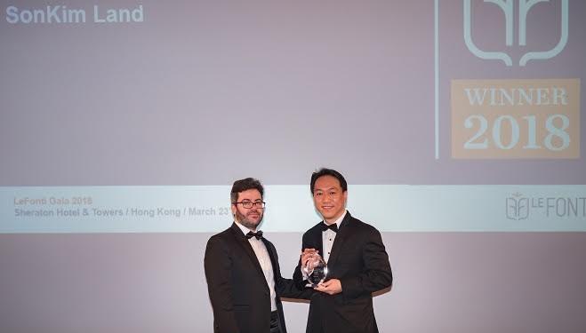SonKim Land giành giải thưởng quốc tế IAIR lần thứ 2