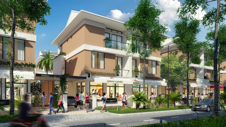 Thức thời mô hình nhà phố kiểu mới