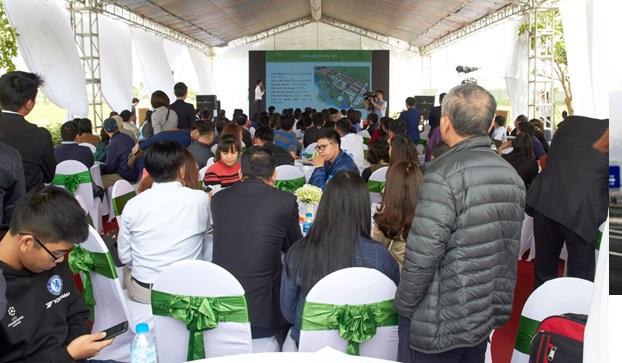 Dự án The Diamond Park Mê Linh: Có thêm nhiều chủ sau ngày mở bán