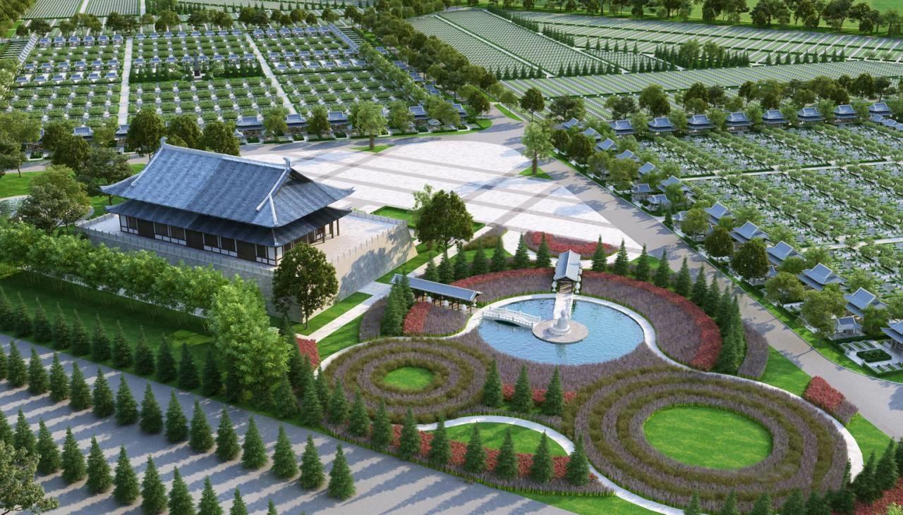 nghĩa trang Sala Garden